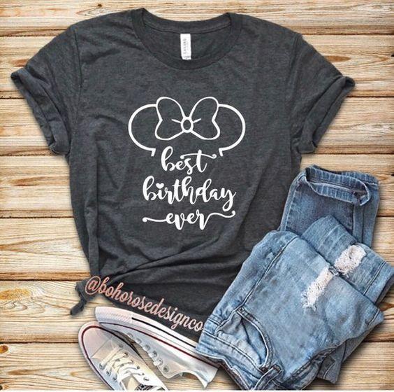 Best Birthday Ever T-Shirt VL01