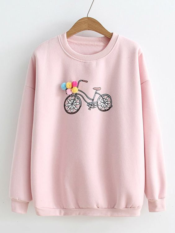Bicycle Sweatshirt VL01