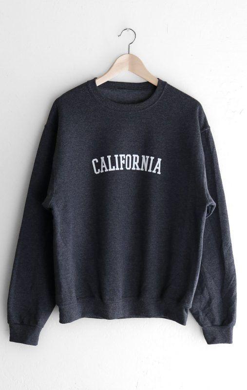 California Sweatshirt VL01