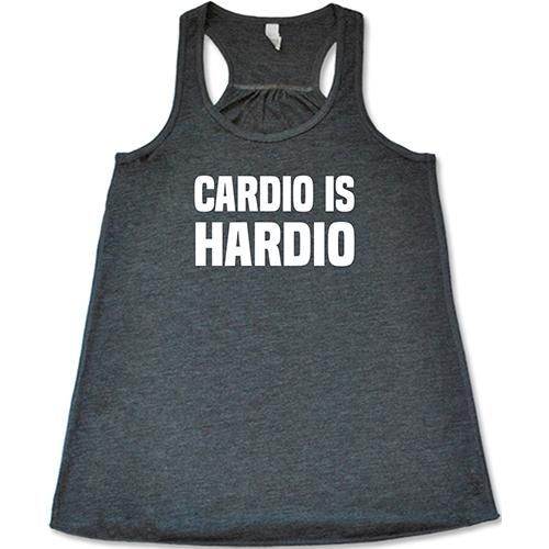 Cardio Is Hardio Tank Top VL01