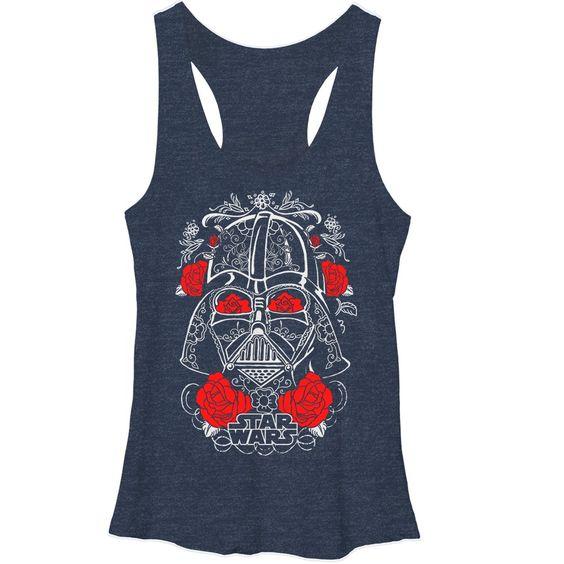 Darth Vader's helmet Tank Top VL01