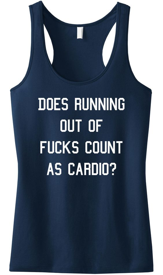 Does Running Out of Fucks Count Tanktop VL01