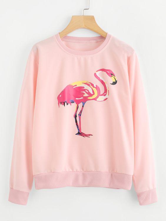 Flamingo Sweatshirt VL01