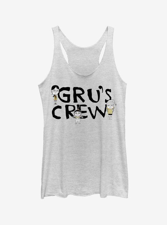 Gru's Crew Tank Top EM01