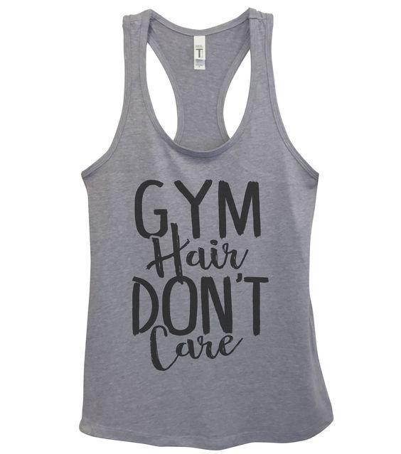 Gym Hair Don't Care Tanktop VL01