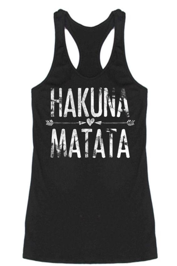 Hakuna Matata Tank Top VL01