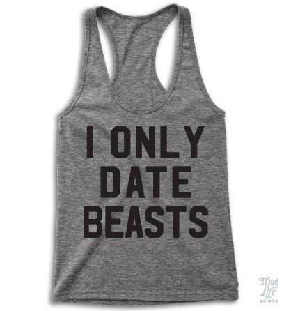 I Only Date Beasts Tanktop VL01