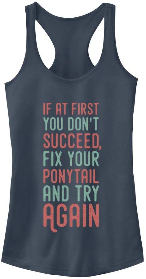 If at First You Dont Tank Top VL01