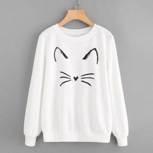 Meow Sweatshirt VL01