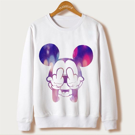 Mouse Cartoon Cute Sweatshirt VL01