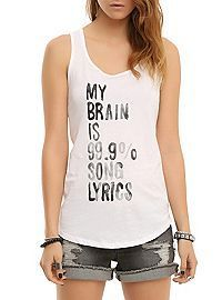 My Brain Tank Top VL01