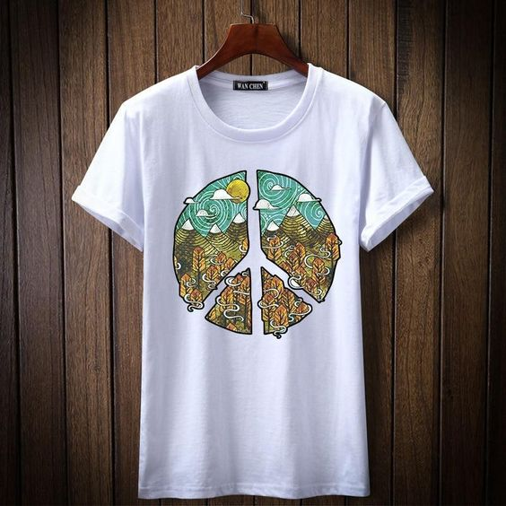 Nature Is Peace T-Shirt GT01