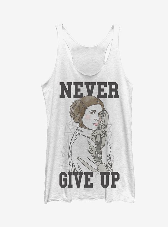 Never Give up Tank Top VL01