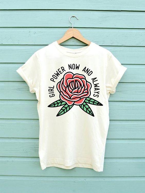 Rose For Girl T-Shirt GT01