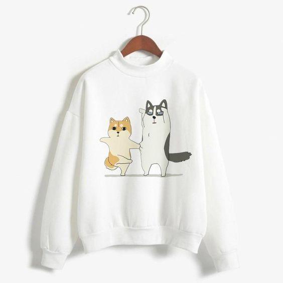 Shiba Inu Woman Sweatshirt VL01