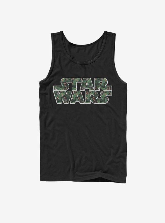 Star Wars Black Tank Top VL01