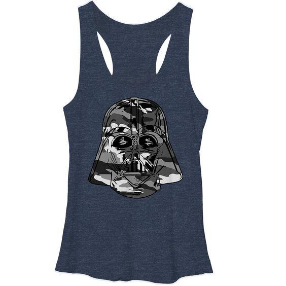 Star Wars Darth Vader Camo Tank Top VL01
