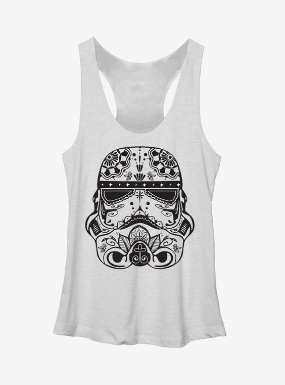 Star Wars Ornate Stormtrooper Tank Top VL01
