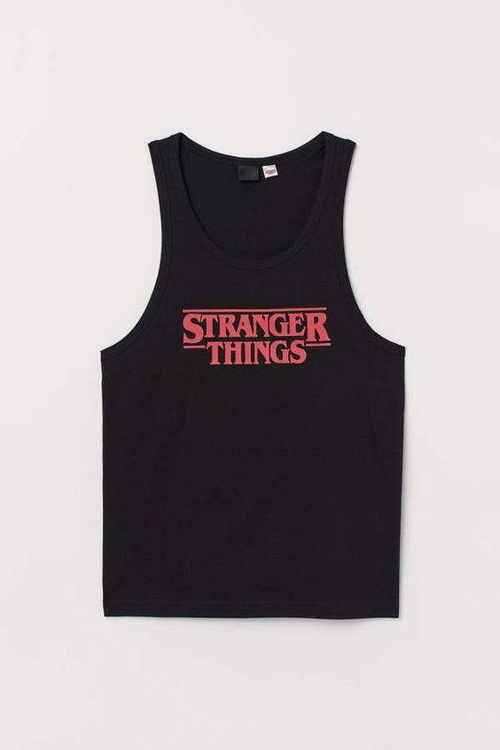 Stranger Things Tank Top VL01
