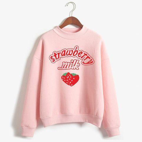 Strawberry Milk Sweatshirt VL01