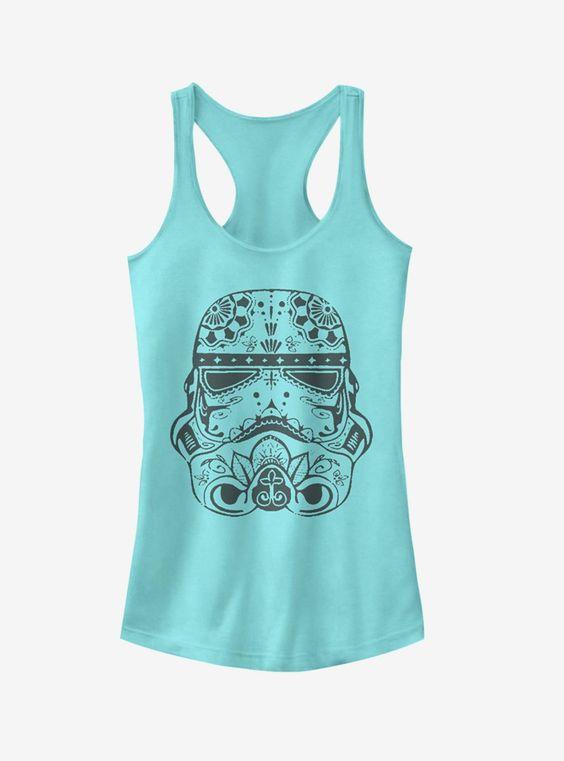 The stormtrooper helmet Tank Top VL01