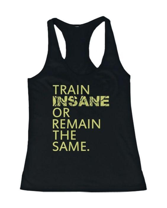 Train Insane or Remain Tanktop VL01