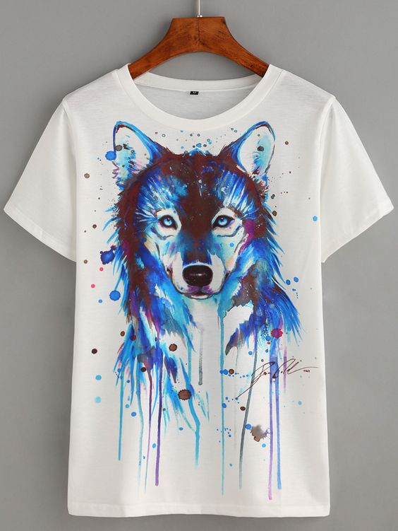 Wolf T-Shirt GT01