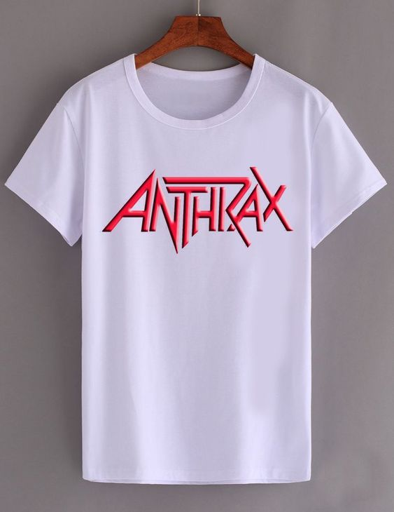 ANTHRAX ROCK BAND T SHIRT FD01