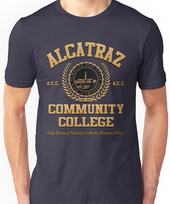 Alcatraz Community College T-Shirt VL01