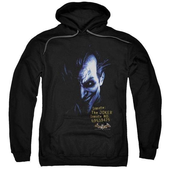 Arkham Joker Pullover Hoodie FD01