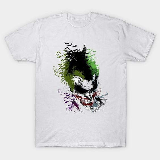 Arkham Laugh Joker T-Shirt FD01