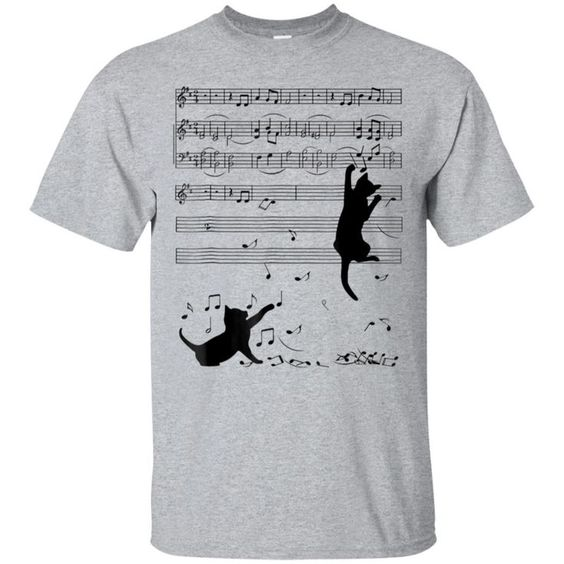 Awesome 2h Note Music T-Shirt EM01