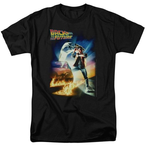 Back To The Future T-shirt AI01
