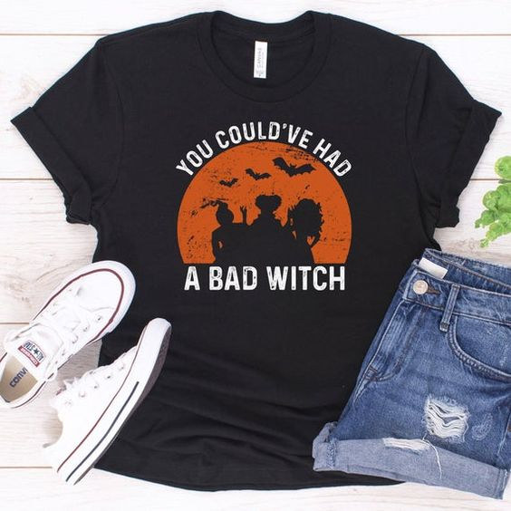 Bad Witch T Shirt SR01