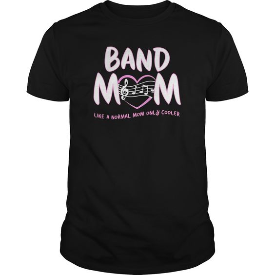 Band Mom T Shirt EM01