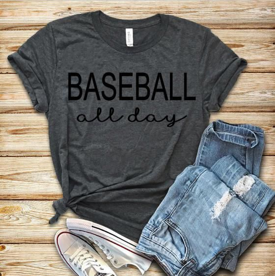 Baseball All Day T-Shirt VL01