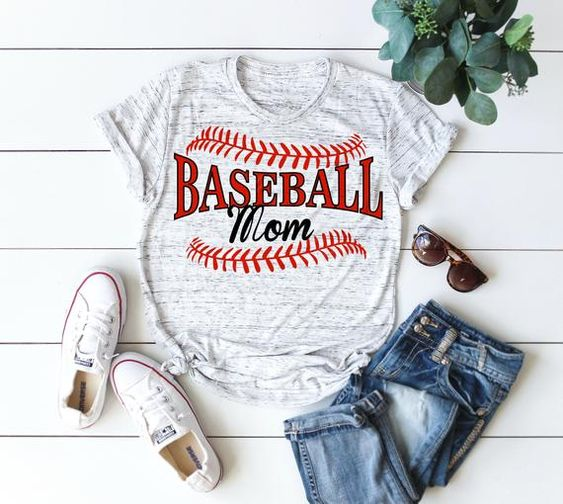 Baseball Mom T-Shirt VL01