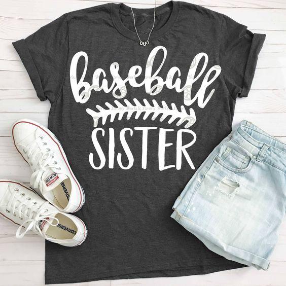 Baseball Sister T-Shirt VL01