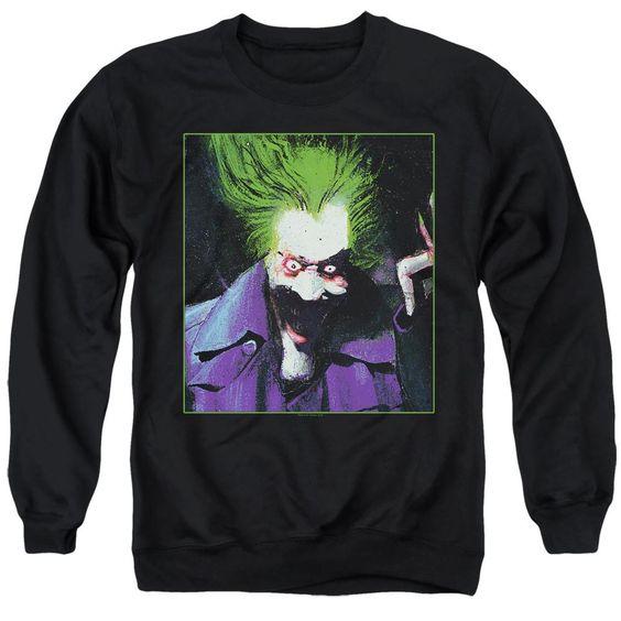 Batman Arkham Asylum Joker Sweatshirt FD01
