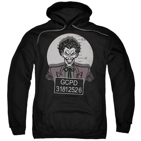 Batman Busted! Pullover Hoodie FD01