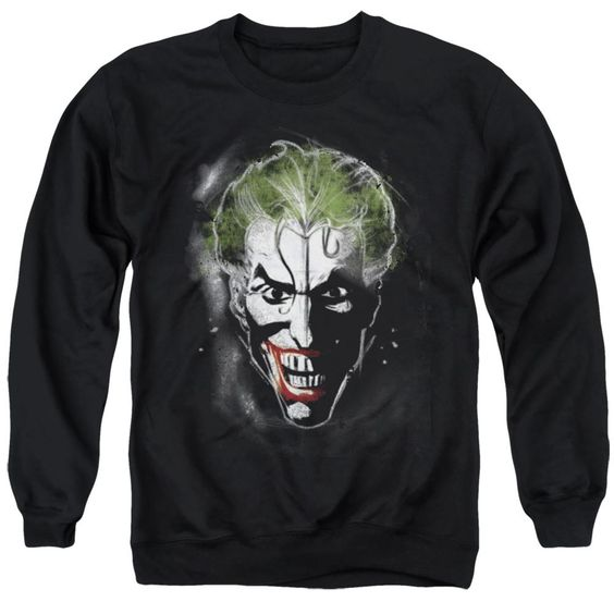 Batman Joker Face Makeup Sweatshirt FD01