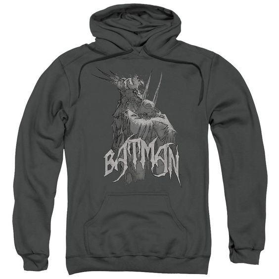 Batman Scary Right Hand Hoodie Fd01