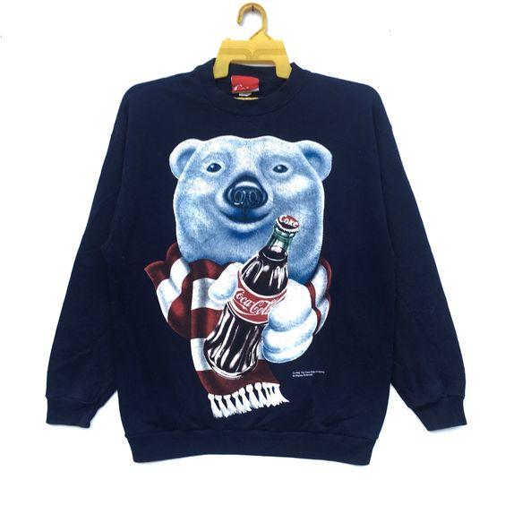 Bear Big Logo Coke Sweatshirt EL28