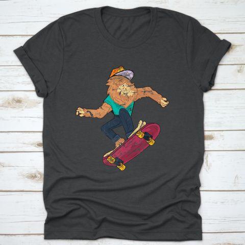 Bigfoot Skateboarding T-Shirt AV01