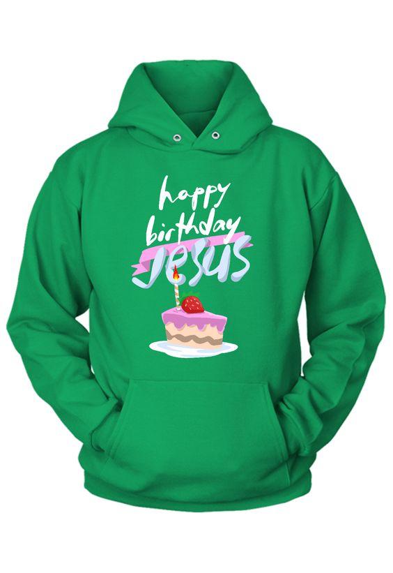 Birthday Jesus Christmas Hoodie SR