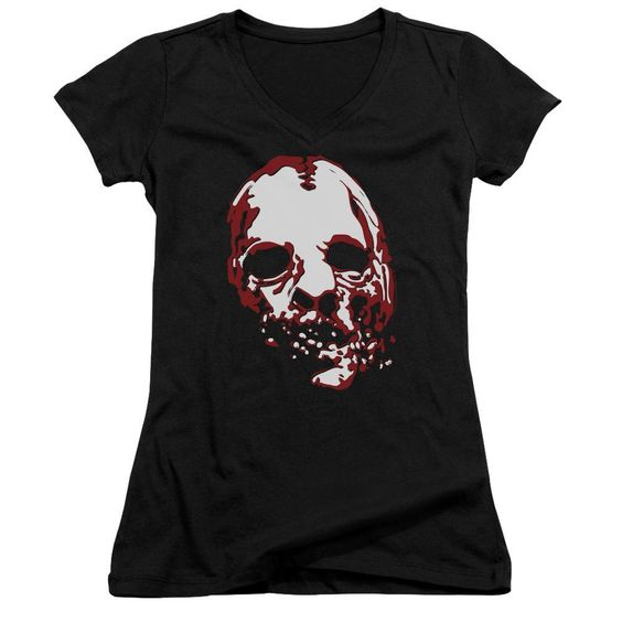 Bloody Face Juniors Vneck T-Shirt DV01
