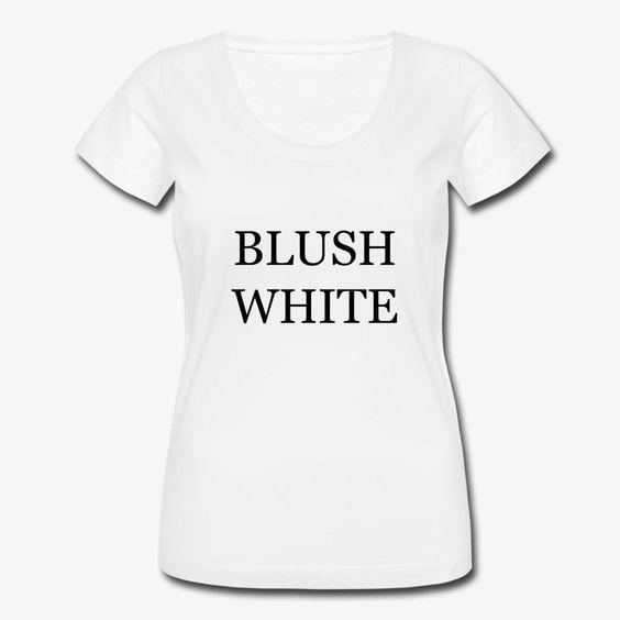Blush White T-shirt AI01