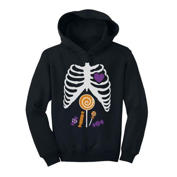 Candy Skeleton Hoodie EL01
