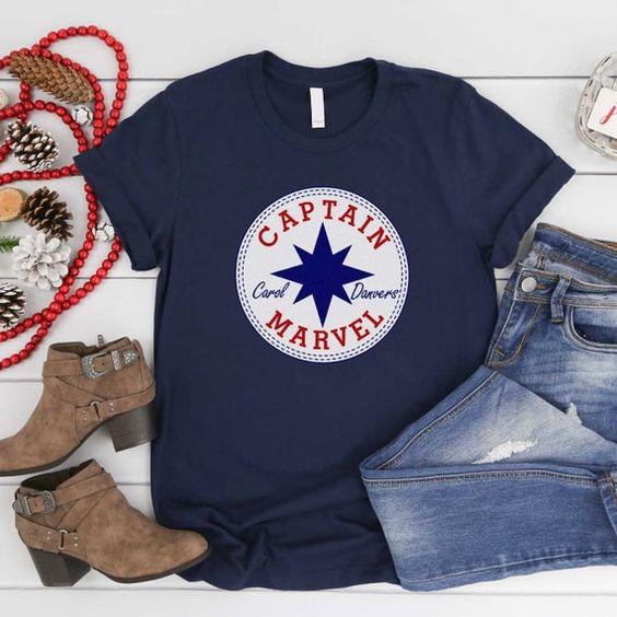 Captain Marvel T-Shirt VL01