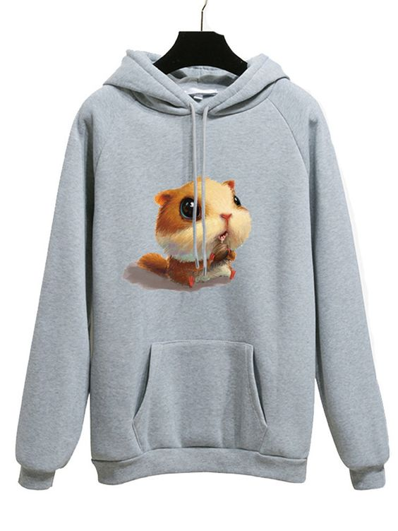 Cartoon Printed Hoodie VL29